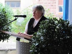 Trudel Zimmermann, Vorsitzende Schulmuseum